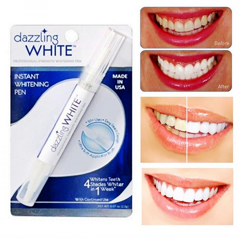 Dazzling Whitening Pen White Teeth Peroxide Tooth Cleaning