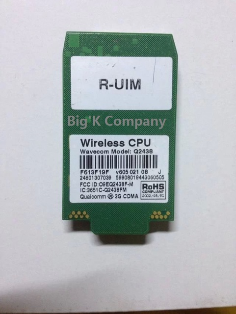 Wavecom  Q2438J  Sierra Wireless   3G 100% NEW&Original  CDMA2000 1xRTT GSM GPRS  LGA  Module in the stock Free Shipping