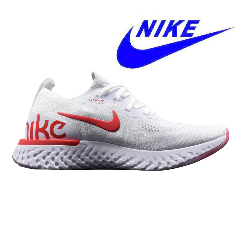 low priced 10f60 dc3bc Original New Arrival Authentic Nike Epic React Flyknit Mens Running Shoes  Sneakers Comfortable Breathable Sport Outdoor
