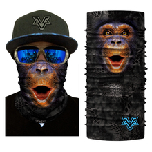 BJMOTO Men Women Sports Motorcycle Face Masks Bicycle Balaclava Scarf Head Wear Outdoor Monkey Tiger Dog