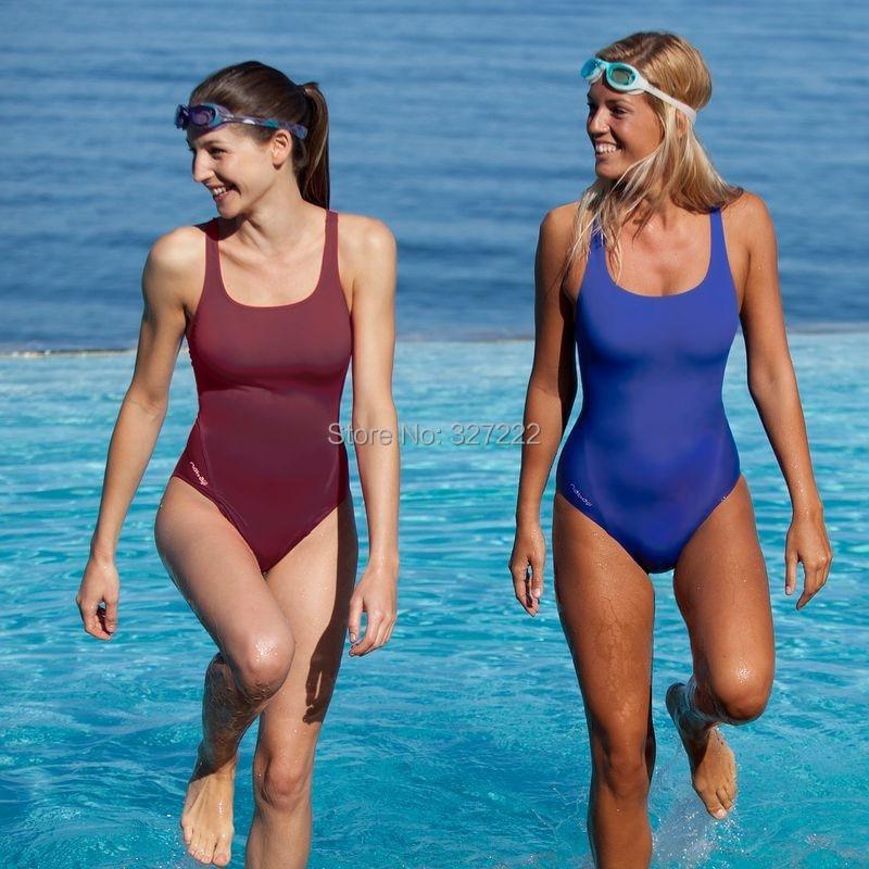 One Piece Swimsuit Swimwear Swimmers Swimming Pool Beach ...