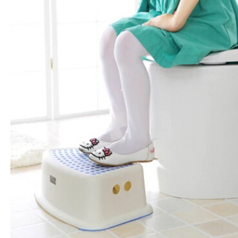 Baby step stool eco friendly new pp plastic bathroom anti slip children stool in potties from Bathroom step stool for kids
