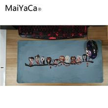Купить с кэшбэком MaiYaCa Hot Sale The Owl Is In The Tree Animal Large Mouse Pads Custom Design Gaming Mouse Pad
