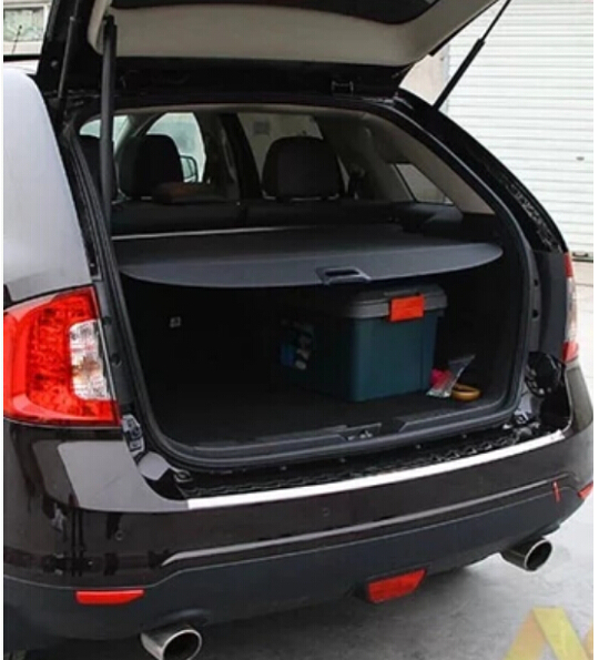 Rear Trunk Security Shield Cargo Cover Fit For Ford Edge Edge