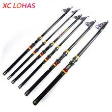 Big sale Exclusive Quality 99% Carbon Fiber Long Casting Fishing Rod Mini Folding Telescopic Fishing Rod for Sea Fishing 1.8M- 3.6M