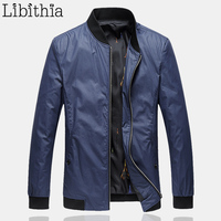 Men S Casual Zippers Jackets Plus Size 7XL Stand Collar Spring Autumn Slim Fit Clothes Male