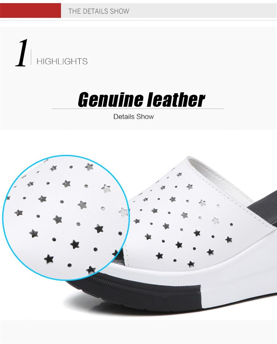 f7aa4405b75f6 STQ 2018 women platform sandals suede leather flat sandals Low Wedges  Summer female Sandalias ladies gladiator sandals 8631USD 19.49-21.64 pair