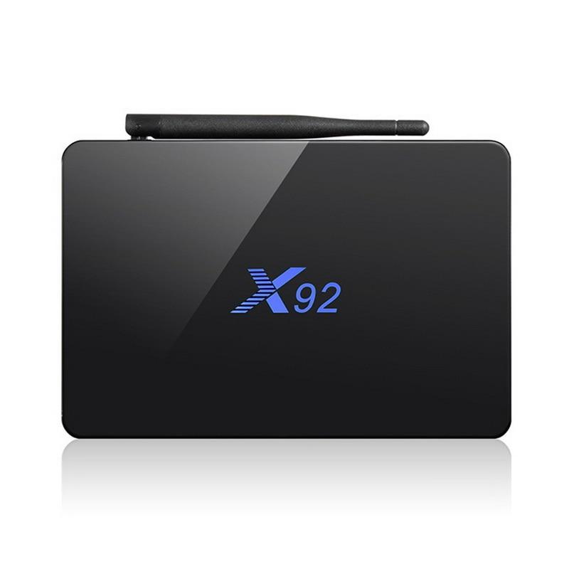 3 GB RAM 16 GB TV Box Android 7.1X92 Smart Mini PC Amlogic S912 Octa-core 4 Karat 3D Media Player KODI Bluetooth 5,8G Wifi M9S pro 32G