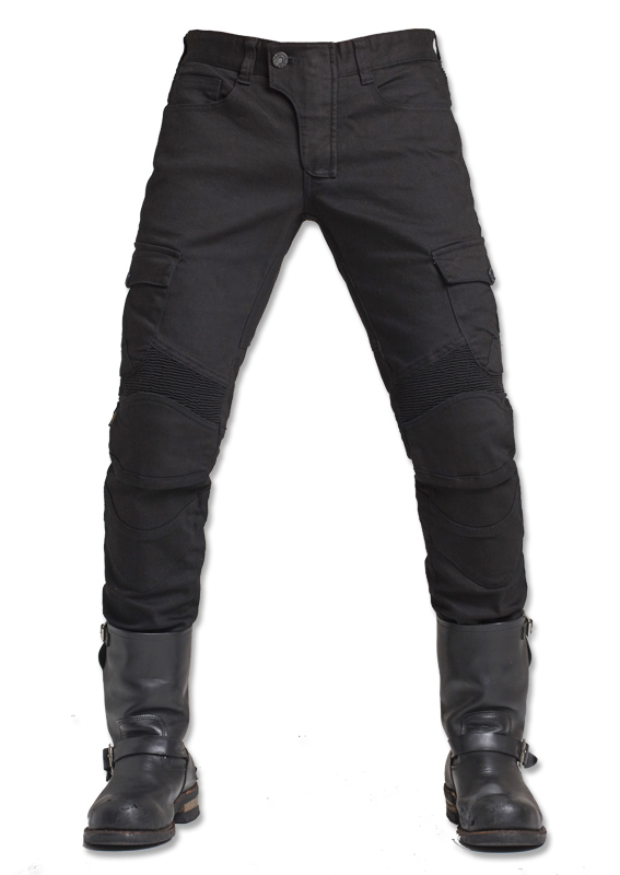 Black Casual Uglybros Motorpool Ubs06 Jeans Motorcycle Protective Pants Men's Moto Pants Outdoor Tactical Pants Racing Pants blue scoyco p043 protective jeans protector rider pants with ce knee moto motorcycle racing leisure oxford fabric trousers