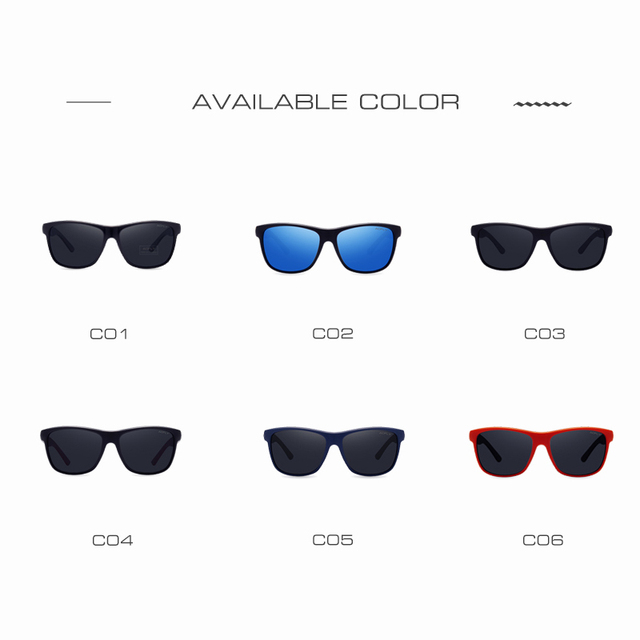 AOFLY Polarized Sunglasses Men Women Original Brand Designer Polaroid Reflective Mirror Sun Glasses Unisex Goggle gafas de sol 4