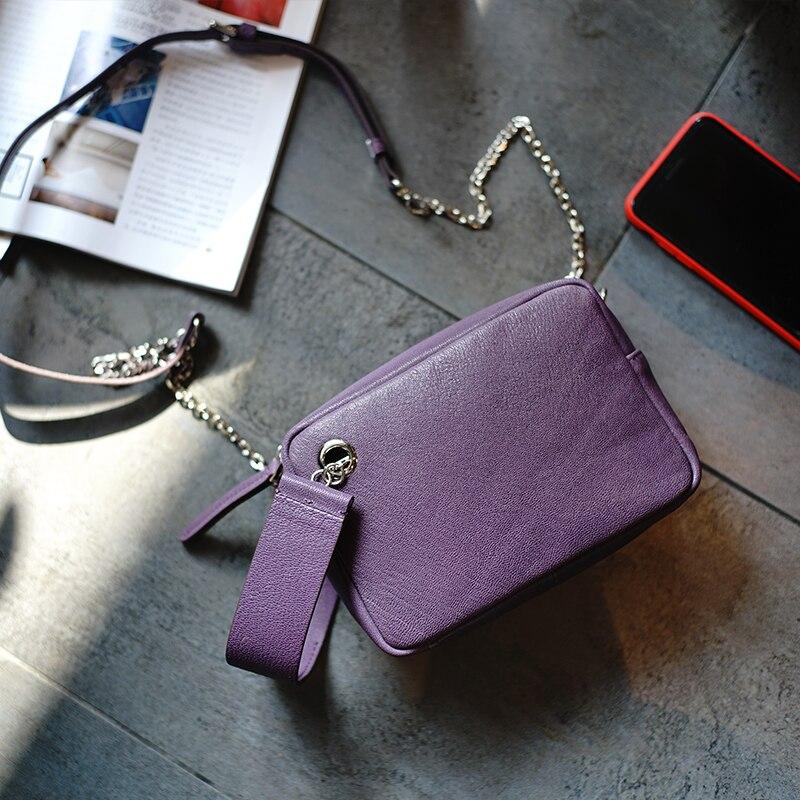 Main Top Italie Black Corps De En purple Poignée Petite Veau Boîte Femmes Sac À Wb843 blue Croix Woonam Mode Cacher Cuir 4wtqYa8