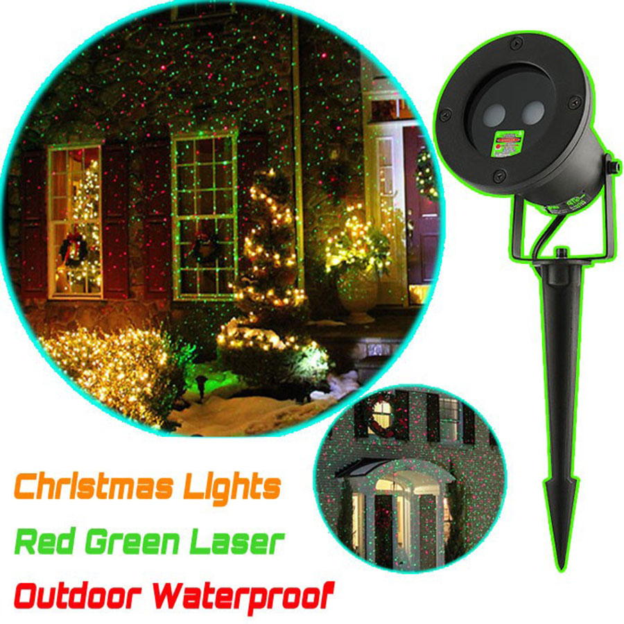 Outdoor Laser Light Waterproof Christmas Projector Holiday Twinkling Led Star Lights Garden Decorations Power Supply In Lawn Lamps From Lighting On