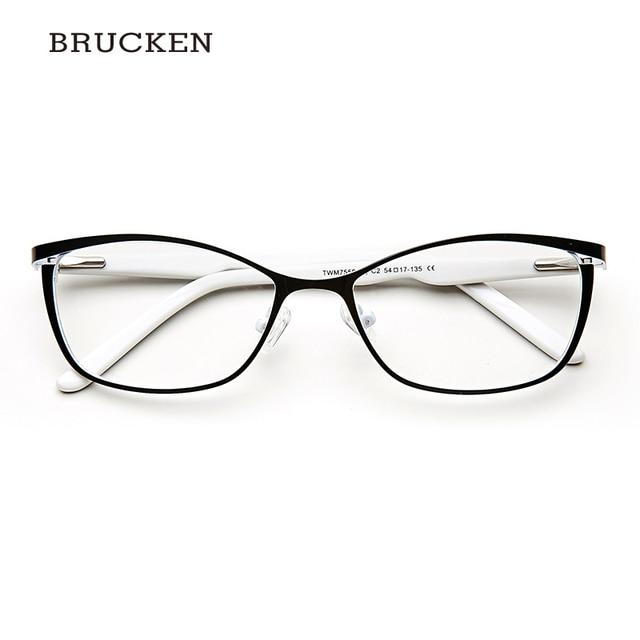 Metal Women Cat Eye Glasses Frames For Women Vintage Spectacles ...
