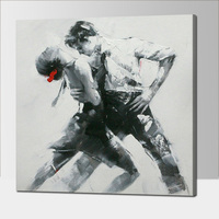 No Frame Dropshipping Home Decoration Man And Woman Dancer Frameless Wall Art Picture By 100 Handmade