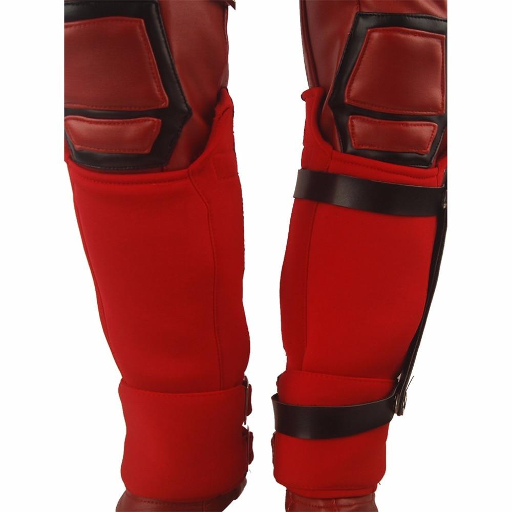 Dzieci Chłopcy X-Men Deadpool Wade Wilson Strój Jednolite - Kostiumy - Zdjęcie 6