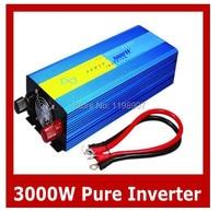 3000W Pure Sine Wave Off Grid Inverter For 12V Solar Battery PV System