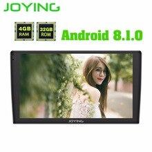 Ultime Android 8.1 uno din 4 GB di Ram 32 GB di Rom 9 pollici Auto Radio Player GPS schermo di tocco di HD testa universale unità di avvio veloce con DSP