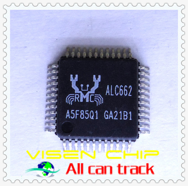 10pcs ALC662  5.1 Channel High Definition Audio Codec