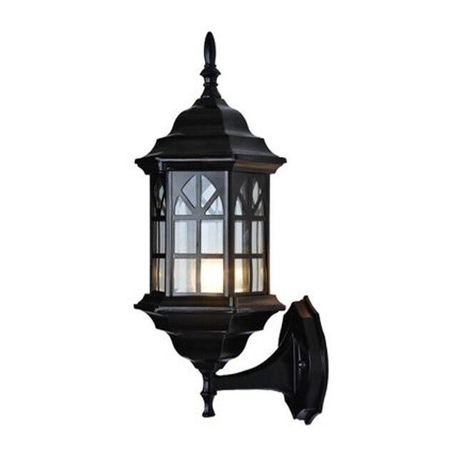 American Europe Luxury Outside Light Lamp Sconce Retro Uk Wall Lantern Waterproof Vintage Clical Outdoor