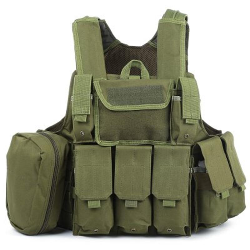 Camouflage Hunting Military Tactical Vest Amphibious Battle Combat Airsoft Molle Bullet Assault Plate Carrier Vest 10 Colors