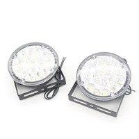 2X Super Bright DRL Car LED Universal Flexible Daytime Running Light LED Car Head Lamp Front