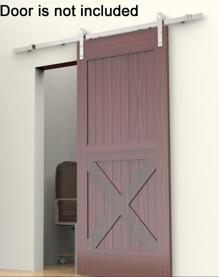 1 5 m puerta de madera de estilo americano antiguo granero for Puertas de madera estilo antiguo