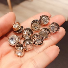 1 pack(10 pcs) fragrance pearl brooch female pin fixed clothes decoration creative wild anti-light silk scarf cufflinks