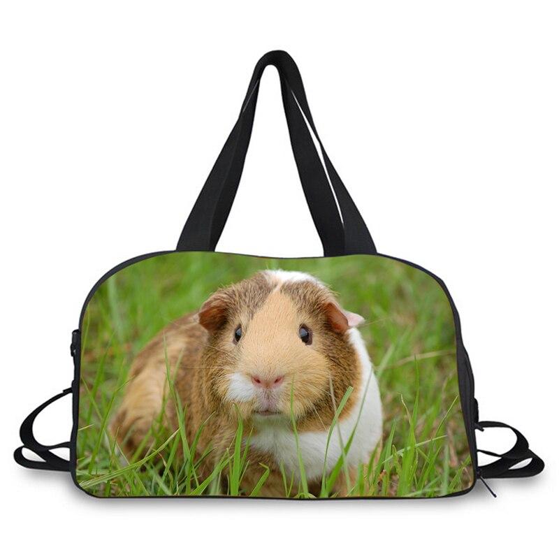 Zoo all kinds of animals print  New Fashion Large Capacity Ladies Luggage Bag Travel Bag Print Travel Luggage Bag Casual Bag