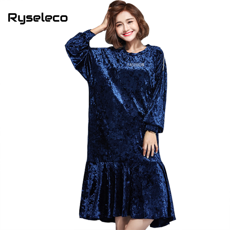 Plus Size Ruffle Dresses for Women Sleeves