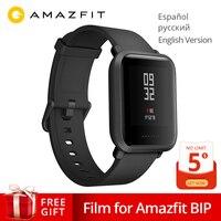 Global Version Xiaomi Huami Amazfit Bip Smart Watch GPS Gloness Smartwatch Smart watch Watchs 45 Days Standby for Phone MI8 IOS