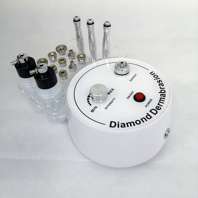 Newest 3 In 1 Skin Diamond Peeling / Oxygen Jet Water Aqua Dermabrasion/ Hydra Microdermabrasion Machine