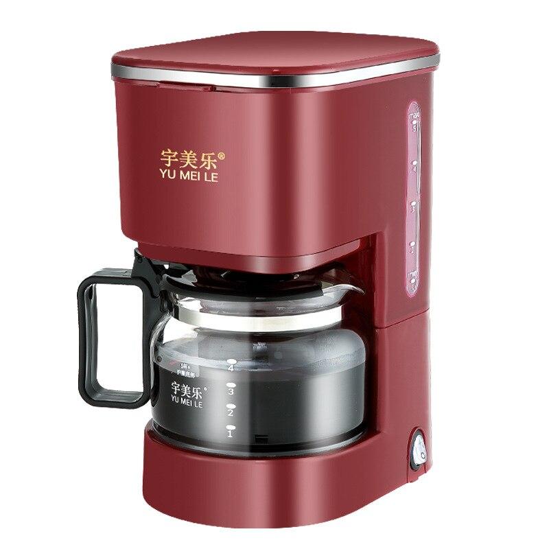 Portable Espresso Coffee Maker Home Automatic American Drip Coffee Machine Mini Instant Brewed Coffee & Tea Tool Pot hot coffee pot coffee drip 700ml
