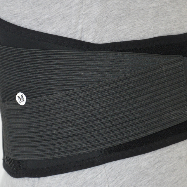 Big Size XXXL Heath Care Waist Support Neoprene Waist Protector for Sports Safety Men Women Waist Training Belts Sweat Belt 2