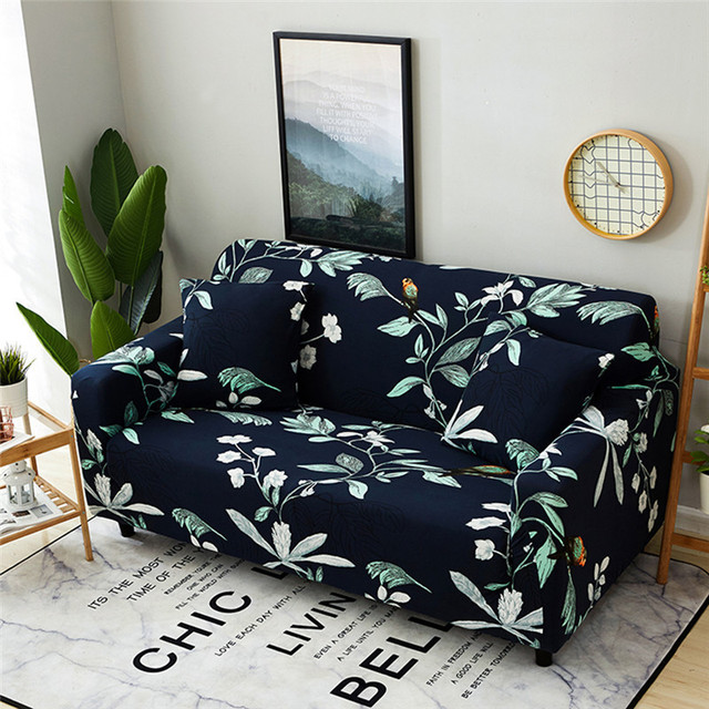 Us 30 0 50 Off Pastoral Universal Stretch Sofa Covers With Cushion Cover Elastic Furniture Protector Loveseat Couch Sofa Cover Case For Sofa In Sofa