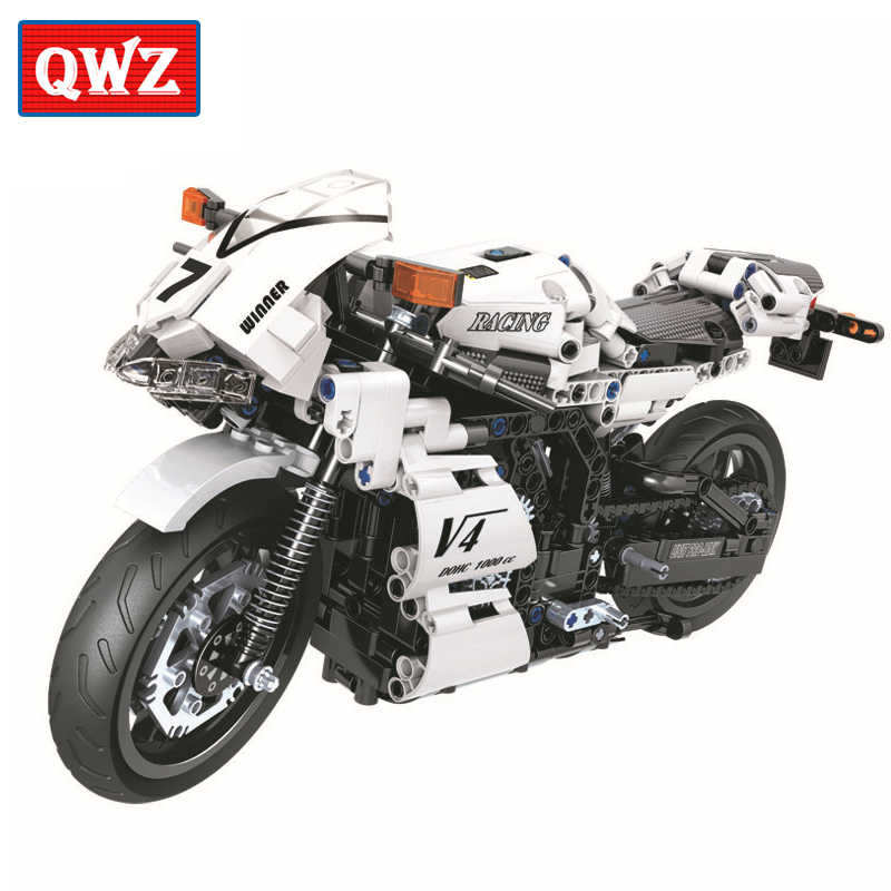 Technic Motorcycle Moto Building Blocks Sets Bricks Model Kids Classic Toys For Children Gifts Christmas gifts City Car