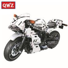 Technic Motorcycle Moto Legoes Building Blocks Sets Bricks Model Kids Classic Toys For Children Gifts Christmas gifts City Car цены