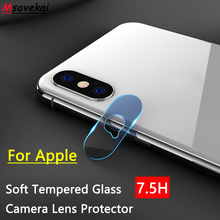 hot deal buy back camera lens tempered glass for iphone 8 plus iphone 6 6s 7 plus 5se iphone x xs xr xs max apple clear screen protector film