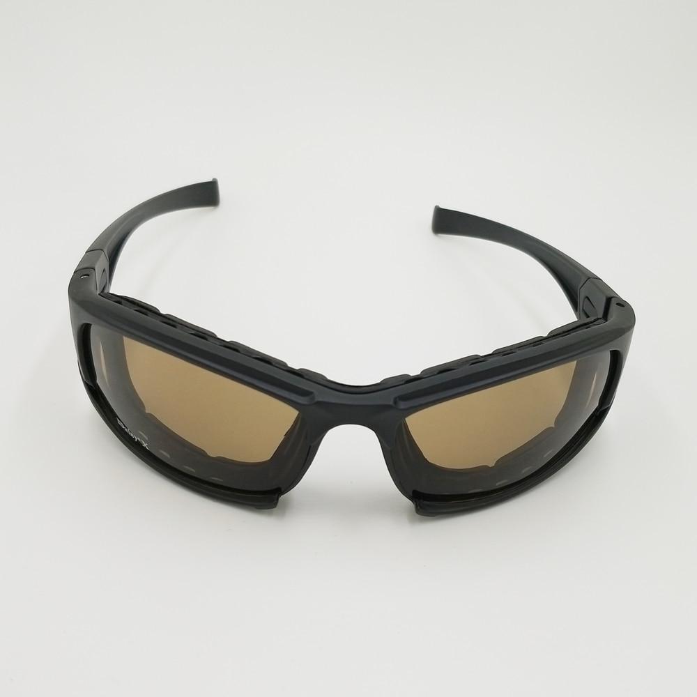 Margarida X7 4 Lente óculos de Sol Do Exército Tático Militar Goggles Óculos  Eyeshield Para Wargame Airsoft Tiro Margarida Óculos Táticos em Óculos de  ... 860c7d9f04