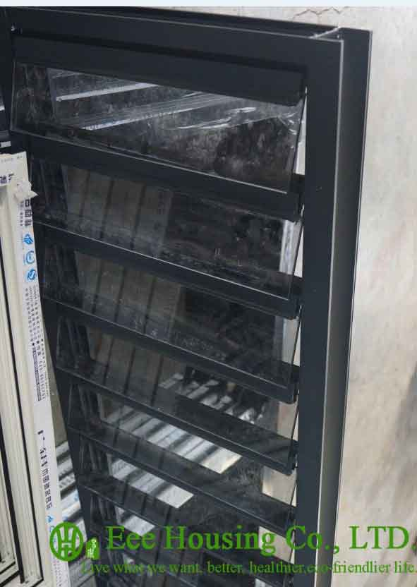 Aluminum Shutters, Aluminum Glass Louvered Windows For Sale,Hurricane-proof Louvered Windows,Jalousie Louver