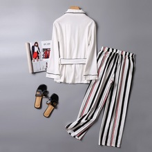 V-Neck Cotton Pajamas for Women