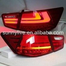 Для KIA Forte задний фонарь со светодиодный 2009-2011 WH красного цвета