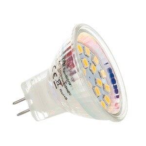 Image 5 - LED Spotlight MR11 2 W 3 W 35 มม. หลอดไฟ LED หลอดไฟ LED โคมไฟ GU4 Bombillas DC 12 V 24 V 2835 SMD Led แสงสีขาวโคมไฟ