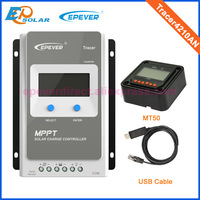 Best Price For 40A Tracer4210A Mppt Solar Controller With MT50 And USB