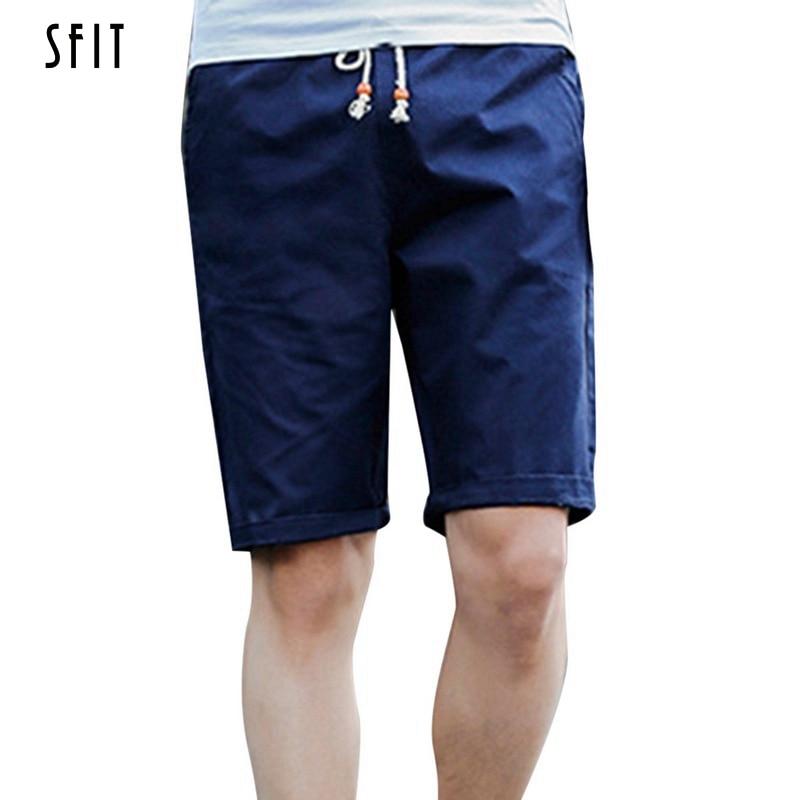 SFIT 2019 Brand Men's   Shorts   Summer Mens Beach   Shorts   Cotton Casual Male   Shorts   Homme Bermuda Masculina Plus Size 4XL 5XL