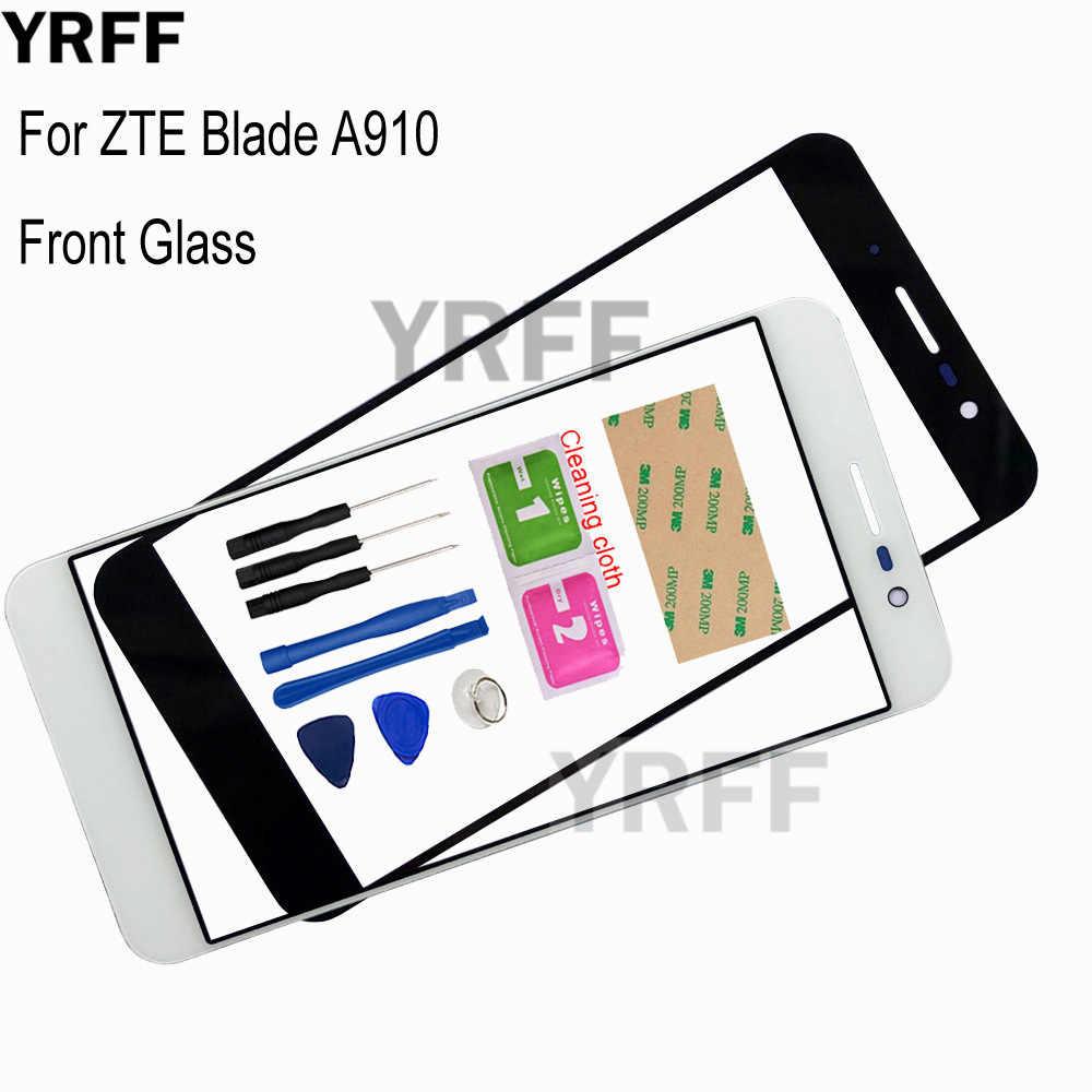 5.5 '(لا تعمل باللمس المحمول) الزجاج الخارجي ل ZTE شفرة A910 BA910 الجبهة لوحة زجاج استبدال