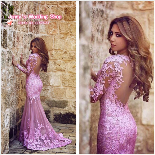 Aliexpress.com : Buy Beautiful Listing Lilac Mermaid Prom Dresses ...
