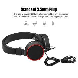 Image 4 - סרט באיכות גבוהה מתקפל אוזניות אוזניות סטריאו סטריאו Hi Fi אוזניות למחשב MP3/4 ספורט טלפון נייד אוזניות עם מיקרופון כבל שליטה