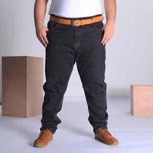 Image 5 - MÙA HÈ THU Quần jeans nam Plus Size Lớn 9XL 10XL quần lớn Quần Jean 48 50 52 Độ Đàn Hồi 8XL cao cấp quần công sở nam 150KG