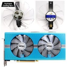 95mm CF1015H12D Graphics Card Blue Led Cooler Fan for Sapphire NITRO RX480 RX470 RX580 RX570 RX590 RX 470 480 570 580 590 4G 8G(China)