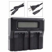 DSTE LCD74A Dual Battery Charger with USB Port for CASIO NP 50 Battery Exilim EX V7 V7SR V8 V8SR Camera